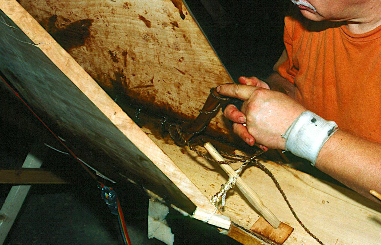 S-formet værktøj #568. Et eksempel på brug.