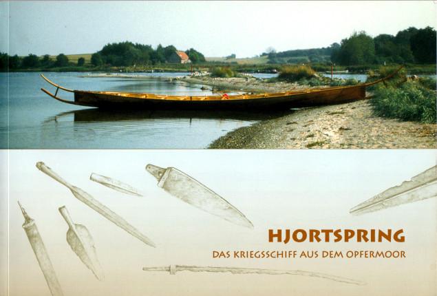 """Das """"Hjortspring-Boot""""."""