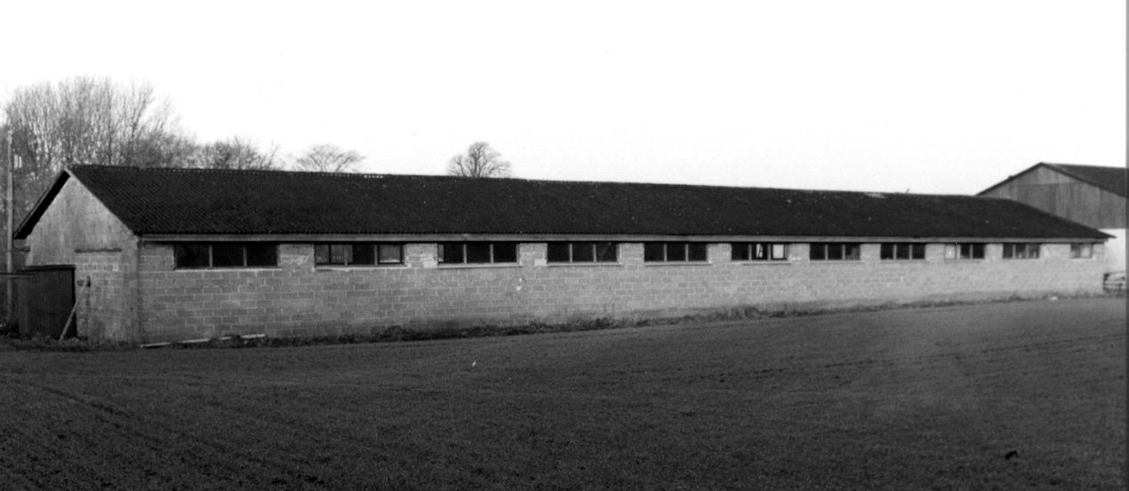 Den lejede  bygning i Holm.