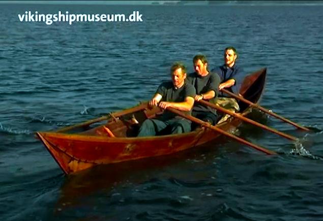 The Viking Ship Museum's edition of Björkebåden.