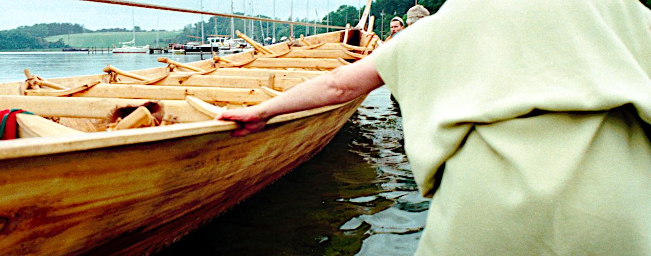 På vandet igen.