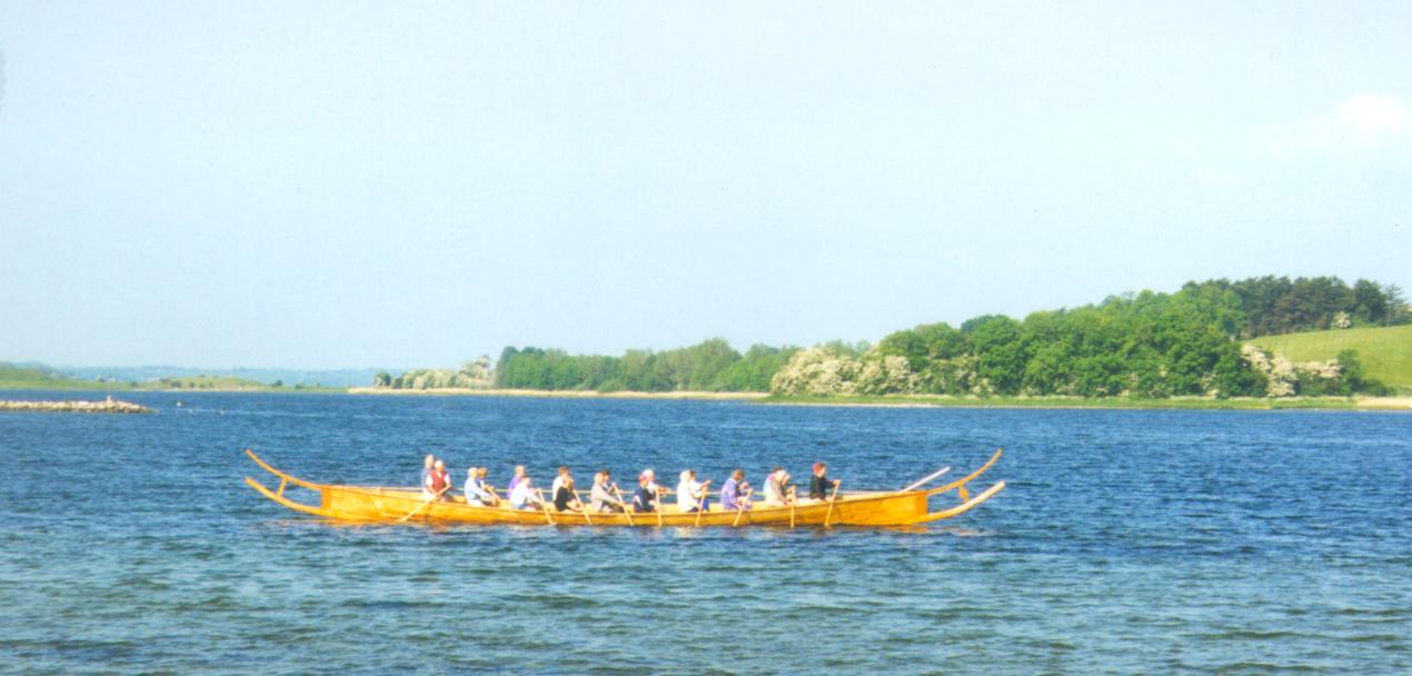 Den første sejltur 29. maj 1999.