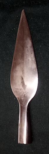 Uden ribbe: 175 mm langt.