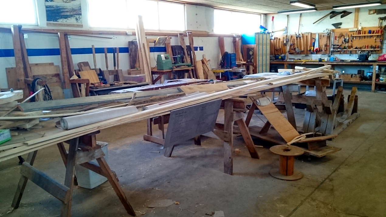 The other end of the workshop.