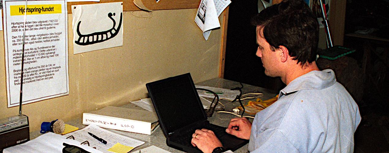 Registrering af målepunkter på PC.